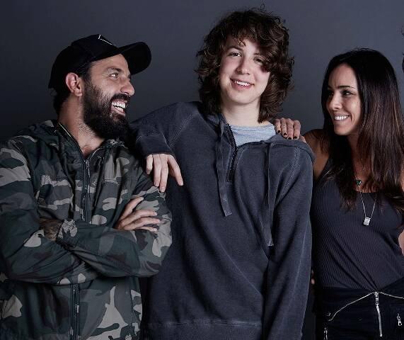 Tico, Lucas Jagger e Lu Arcangelli / Foto: Studio Jaime e Renan
