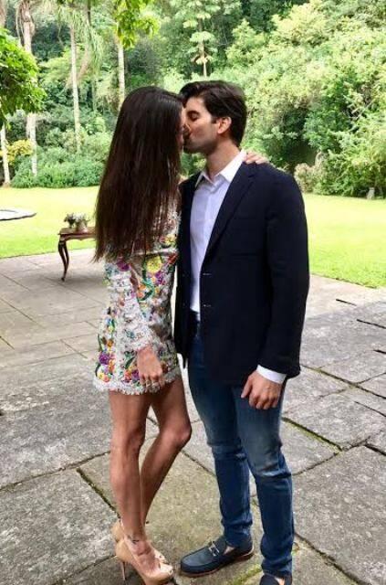 Maria Antonia Marinho e Irano Souto: casamento no Alto da Boa Vista, só com as famílias, nesta terça-feira