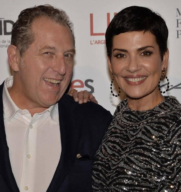 Cristina Cordula e Frederic Cassin: Ex modelo carioca vai se casar com o presidente do canal de televisão francesa M6, em julho