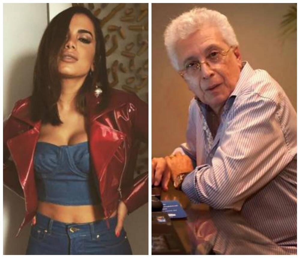 Anitta e Aguinaldo Silva: