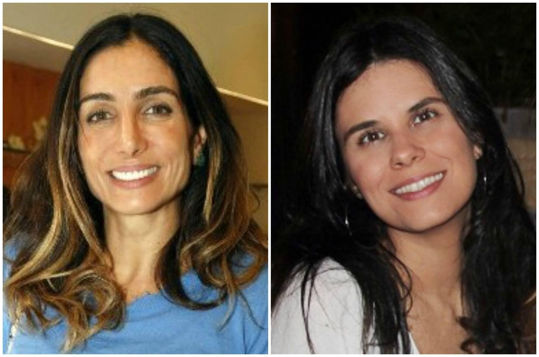 Andréa Santa Rosa e Juliana Carneiro / Foto: reprodução e Vera Donato (acervo do site Lu Lacerda)
