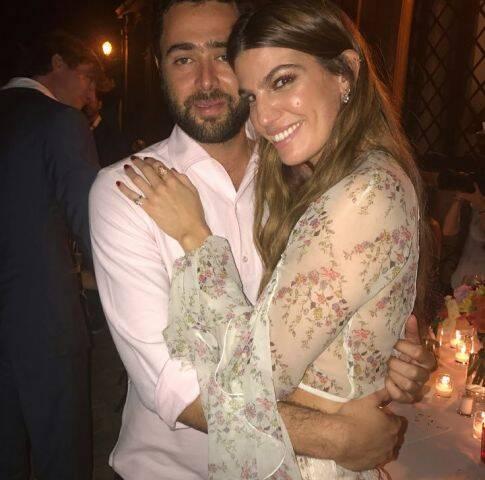 Roberto Marinho Neto e Bianca Brandolini: aniversário dela no La Posta Vecchia, perto de Roma - fim de semana de festas