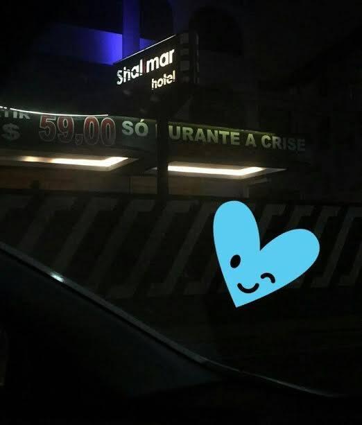 Motel: a criatividade carioca em todas as situações / Foto: amiga da coluna