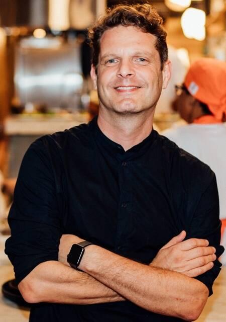 O chef David Hertz, fundador do projeto Gastromotiva: indicado, pelo segundo ano consecutivo, ao Basque Culinary Prize /Foto: Angelo Dalbo