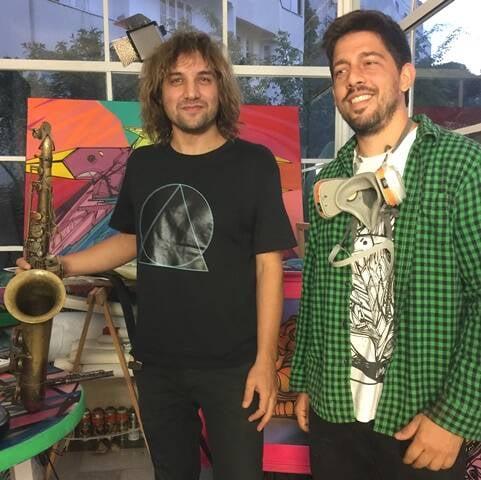 Rodrigo Sha e Lamarca