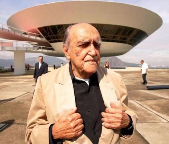 Oscar Niemeyer: discórdia parou o inventário do arquiteto, que tem quatro herdeiros / Foto: IG