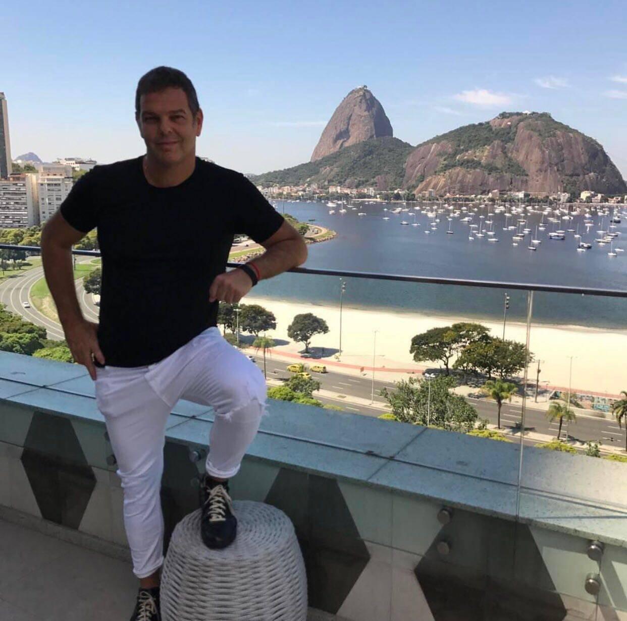 Rodrigo Trussardi: empresário lança nova coleção no Copa, dias 8, 9 e 10 de agosto / Foto: divulgação
