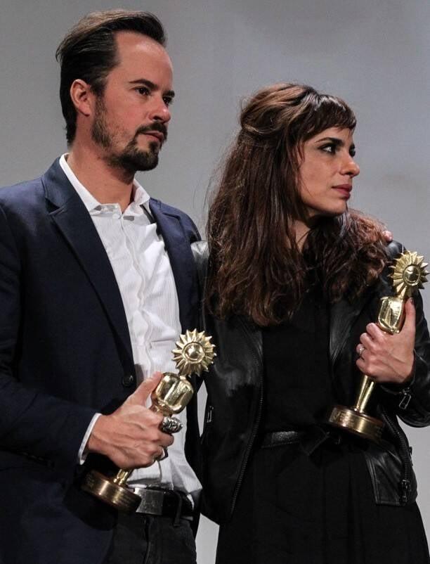 Paulo Vilhena e Maria Ribeiro: melhor ator e melhor atriz no Festival de Gramado / Foto: Marcello Sá Barretto (AgNews)