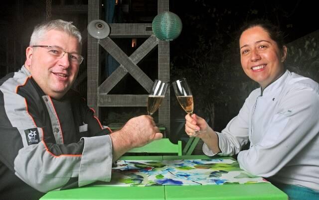 Os chefs Pierre Landry e Manoela Rabin / Foto: Rio Art Com