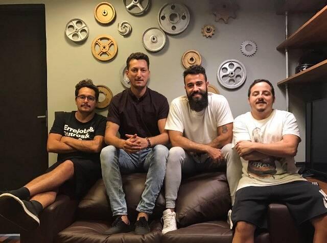Jerson (Farofa) Rangel, Lucas Harfield, Renan Coelho e Yuri Castello Branco: alguns dos sócios da Fábrica / Foto: divulgação