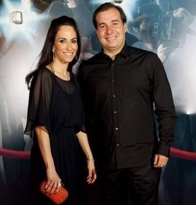 Patricia Vasconcelos e Rodrigo Maia; casal espera um menino / Foto: Vania Rebel (arquivo Site Lu Lacerda)