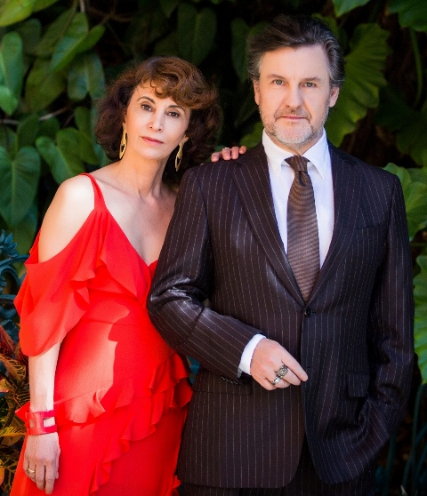 Rosana Lanzelotte e Antonio Calloni/ Foto: Bárbara Lopes
