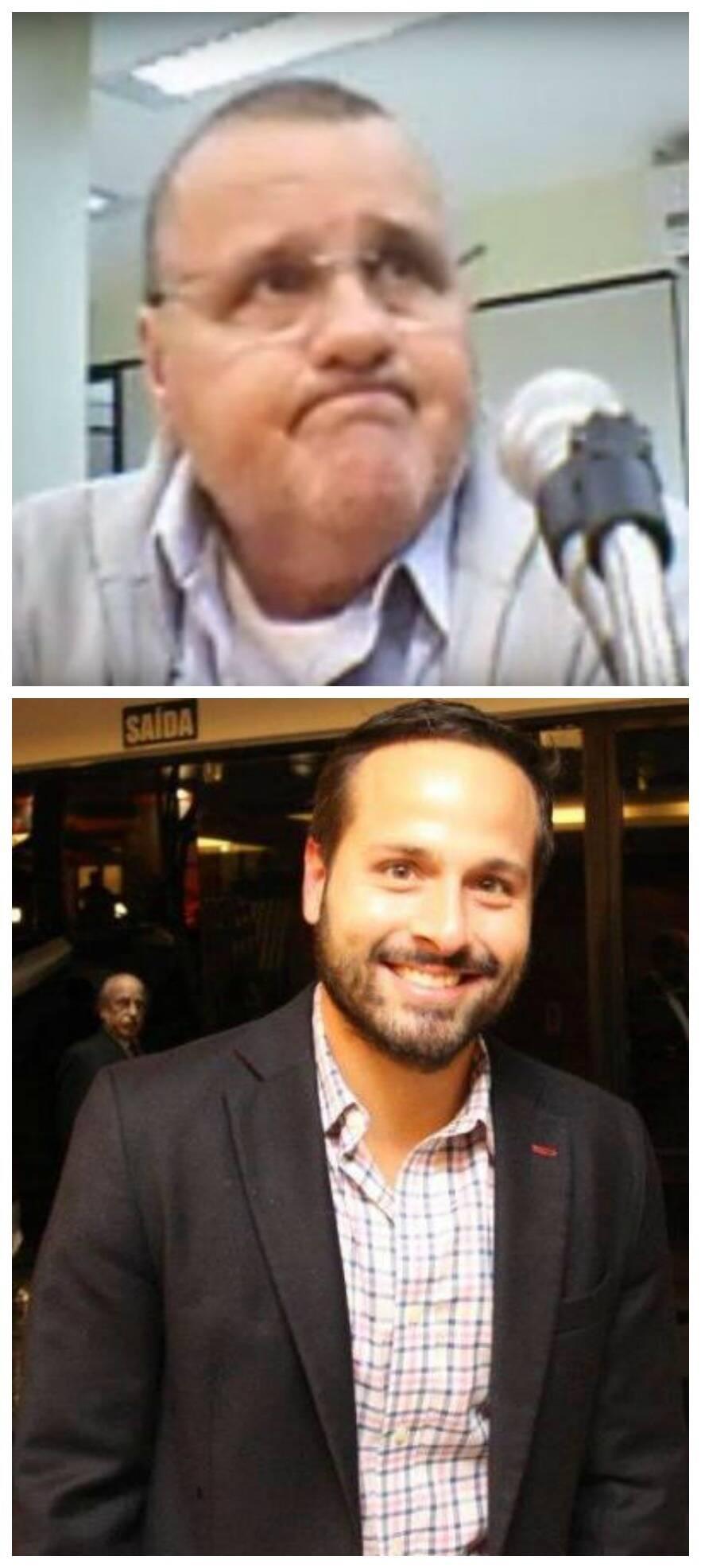 O ex-ministro Geddel Vieira Lima, no alto; acima, o também ex-ministro do governo Temer Marcelo Calero/ Foto: IG e acervo do site Lu Lacerda
