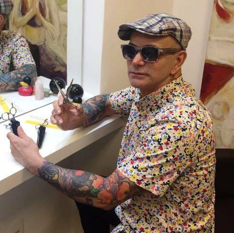 Neandro Ferreira: cabeleireiro, que trabalha no Rio e em Londres, passa a trabalhar, também, em São Paulo / Foto: Site Lu Lacerda