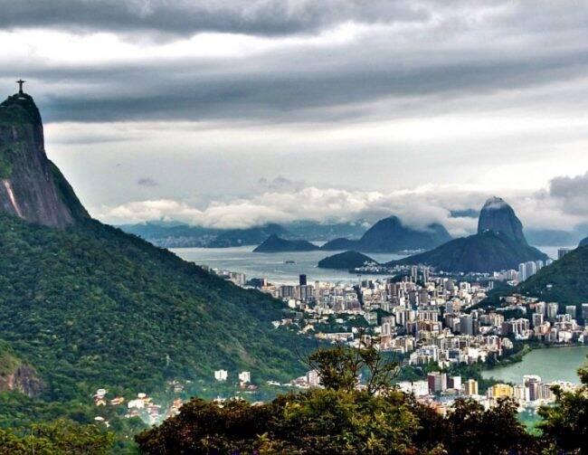 Primeira Corrida da Virada no Rio vai acontecer no Alto da Boa Vista /Foto: Reprodução Instagram