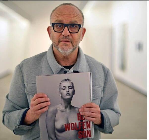 Bob Wolfenson: fotógrafo participa de bate-papo sobre novo livro  /Foto: Reprodução Instagram