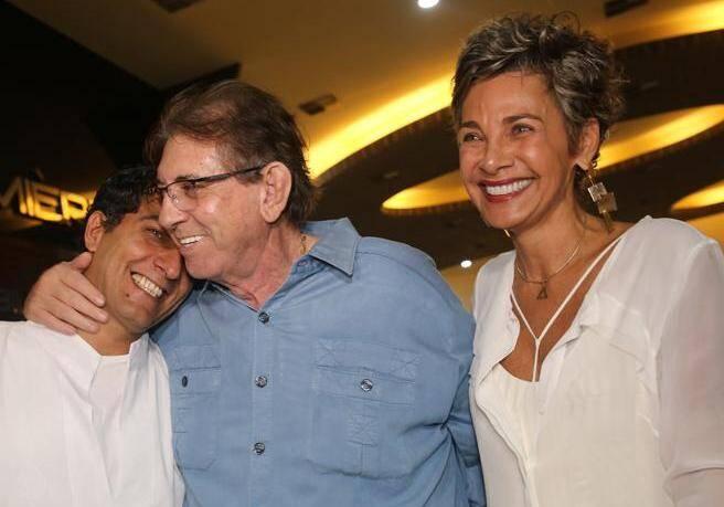 Candé Salles, João de Deus e Edna Gomes /Foto: Reprodução