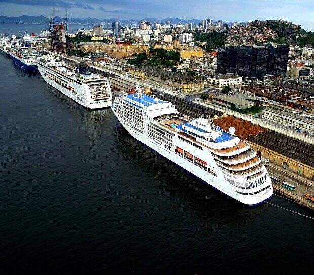 Temporada de cruzeiros no Rio movimenta R$ 324 milhões /Foto: Reprodução