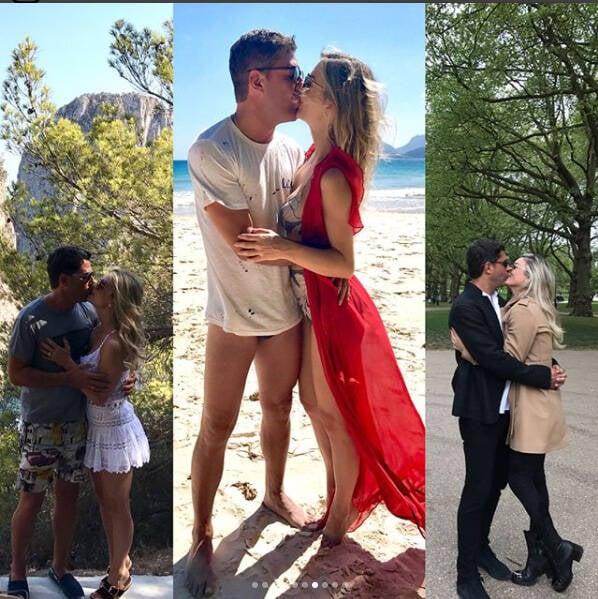 Doda Miranda e Denize Severo: um ano de namoro em Portugal com declarações de amor /Foto: Reprodução Instagram