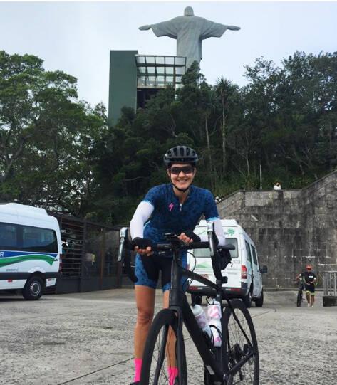 Fernanda Venturini: ex-jogadora da seleção brasileira de vôlei e ciclista será embaixadora de espaço na Paineiras /Foto: Reprodução Instagram