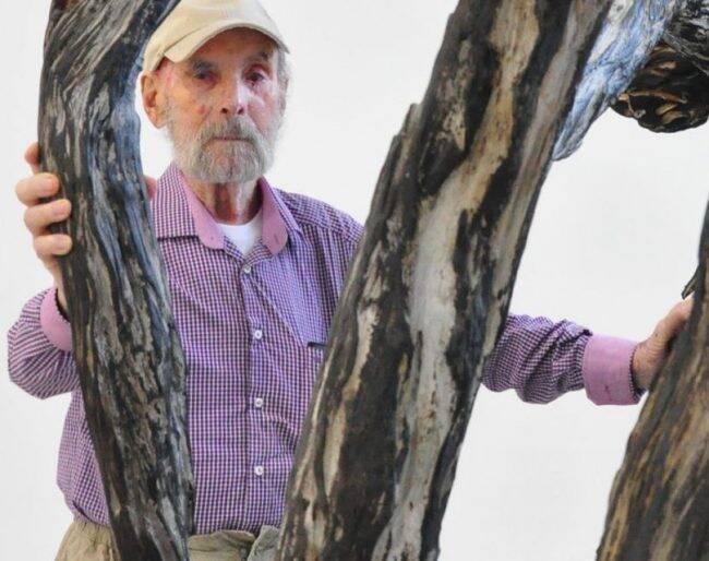 Frans Krajcberg: prefeito do Rio faz homenagem a artista plástico, morto este mês /Foto: Felipe Gesteira