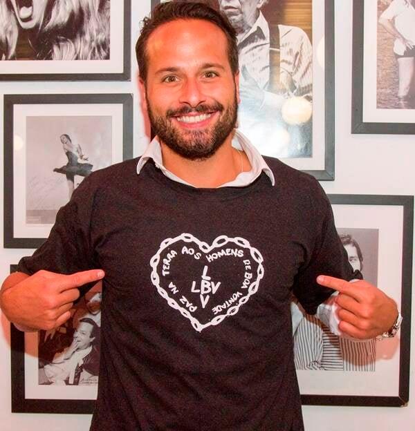 Marcelo Calero: ex-ministro da Cultura faz campanha para LBV /Foto:  Daniel Marques