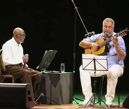 Nelson Sargento e Paulão 7 Cordas: música e bate-papo em show no Rio /Foto: Divulgação