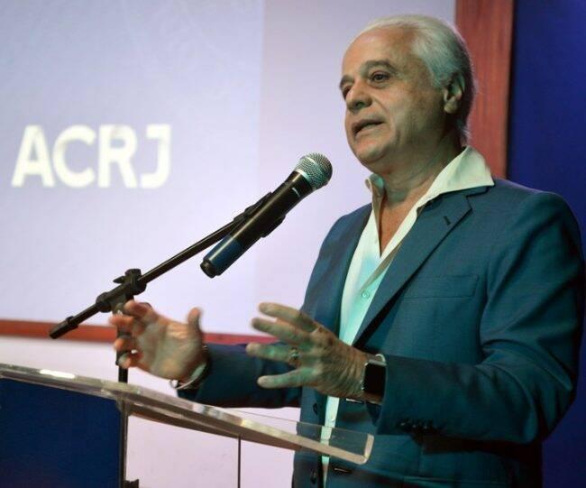 Roberto Medina: empresário faz palestra na ACRJ/ Foto: Divulgação/Lucas Farizel