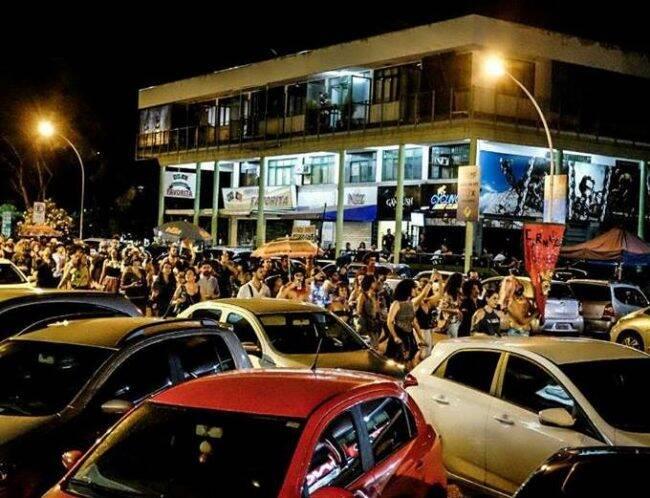 """Bloco """"Carnaval Silencioso"""" sai em protesto à Lei do Silêncio em Brasília /Fotos: Leonardo Milano/Mídia Ninja"""