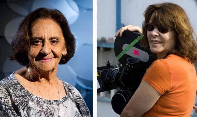 Laura Cardoso e Sandra Werneck: atriz e cineasta serão homenageadas no festival Femina, no Rio /Fotos: Divulgação