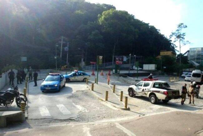 Guarda Municipal e PM: operação de ordenação urbana nos pontos de acesso ao Cristo Redentor /Foto: Divulgação GM