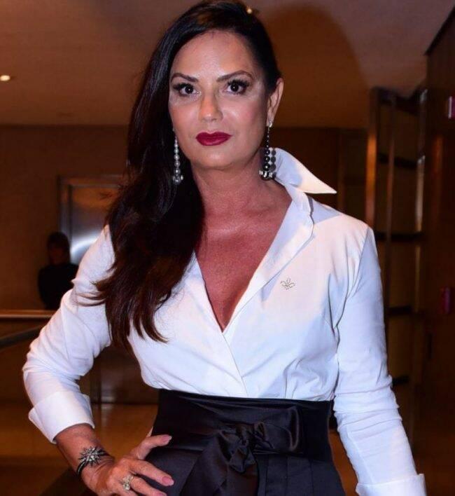 Luiza Brunet e o carnaval: modelo vai ser musa de feijoada em Ipanema /Foto: AG.News