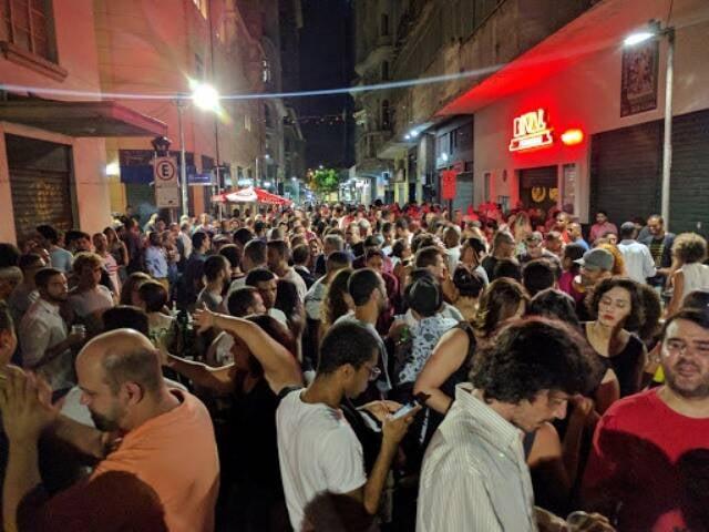 Bar Rivalzinho, na Rua Álvaro Alvim, pode se beneficiar de lei decretada nesta quarta-feira (31/01) /Foto: Reprodução