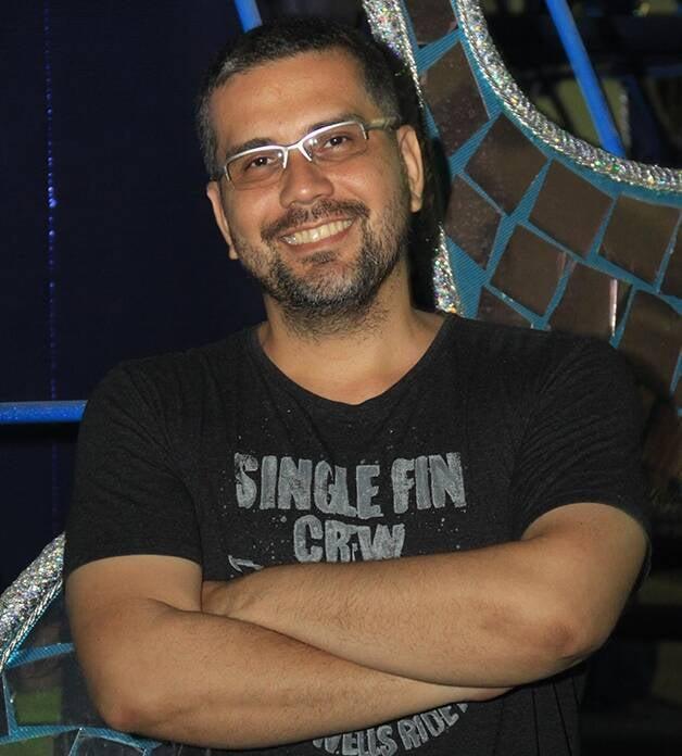 Jack Vasconcelos: carnavalesco da escola Paraíso do Tuiuti, vice-campeã do carnaval carioca, renova contrato /Foto: Divulgação