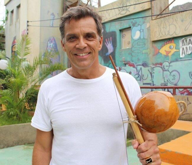 Beto Simas: aulas de capoeira na Cidade das Artes /Foto: Divulgação