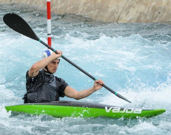 Pedro Gonçalves: atleta da canoagem vai treinar no Parque de Deodoro /Foto: Divulgação
