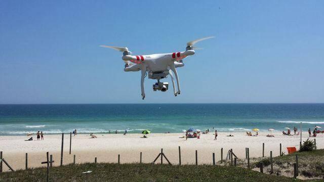 Drones: as aeronaves não tripuladas vão poder ajudar na segurança e aletras de fenômenos climáticos /Foto: Reprodução