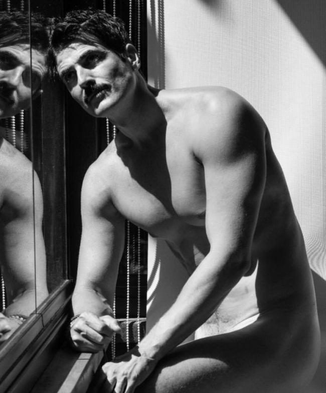 "Reynaldo Gianecchini: ator tira a roupa para ""Pele Project"" /Foto: Brunno Rangel"