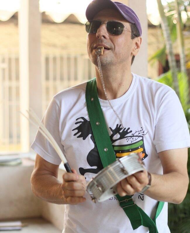 Guto Goffi: músico cancela aulas no Complexo da Maré por causa de tiroteio entre policiais e traficantes /Foto: Divulgação