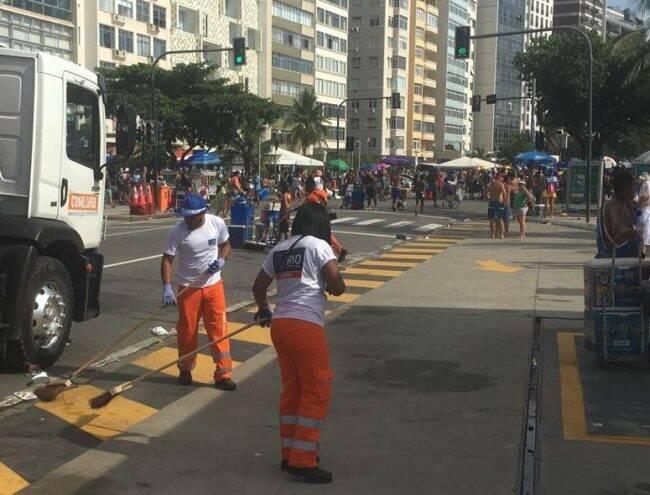 """""""Operação Lixo Zero"""": multa para 116 pessoas por fazer xixi e jogar lixo nas ruas /Foto: Prefeitura do Rio"""