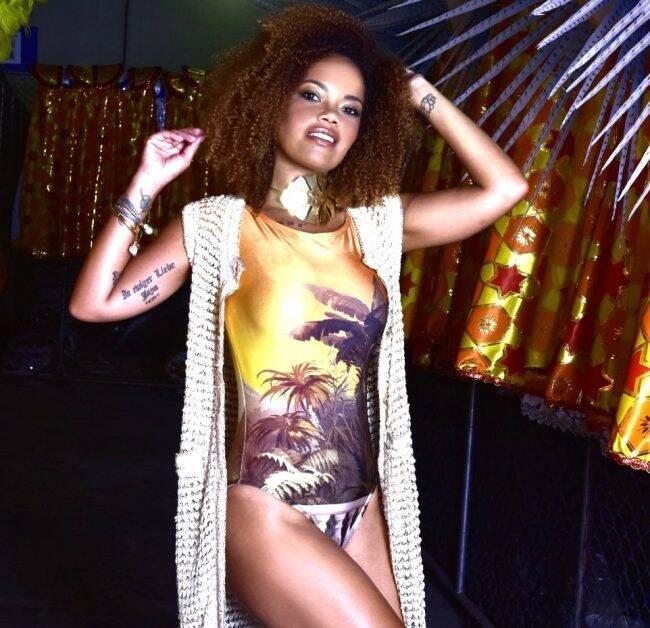 Lucinha Nobre: porta-bandeira da Portela faz ensaio de moda /Foto: Yuri Graneiro