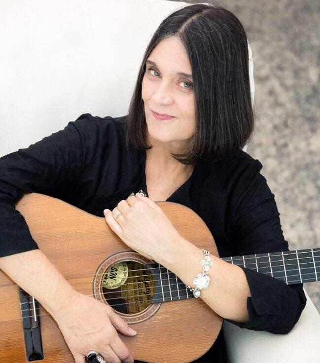 """Joyce Moreno: cantora, compositora e violinista grava """"Depoimentos para Posteridade"""", no MIS /Foto: Leo Aversa/Dviulgação"""