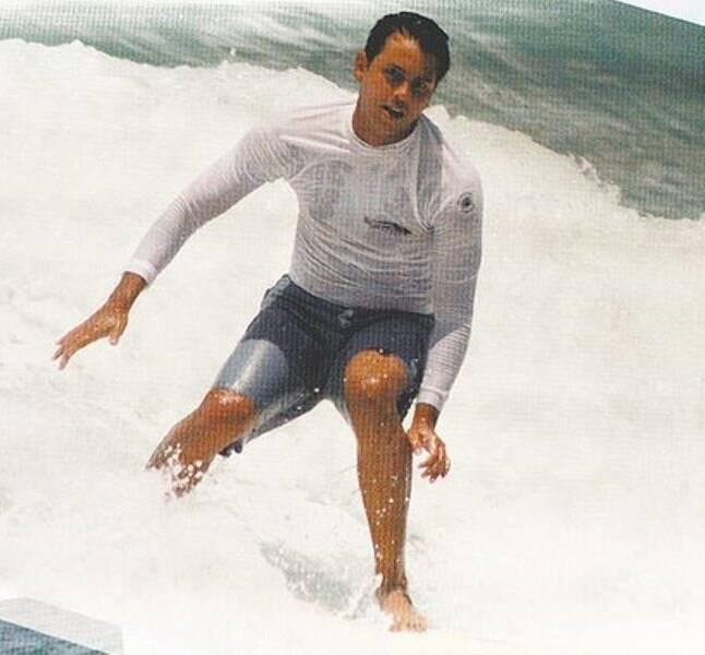 """Guifo Schäffer: surfista """"Servo de Deus"""" ganha homenagem nesta terça-fira (01/05), na praia do Recreio /Foto: Reprodução"""