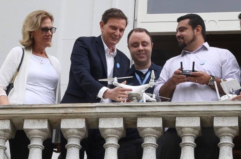 crivella-e-drone-a