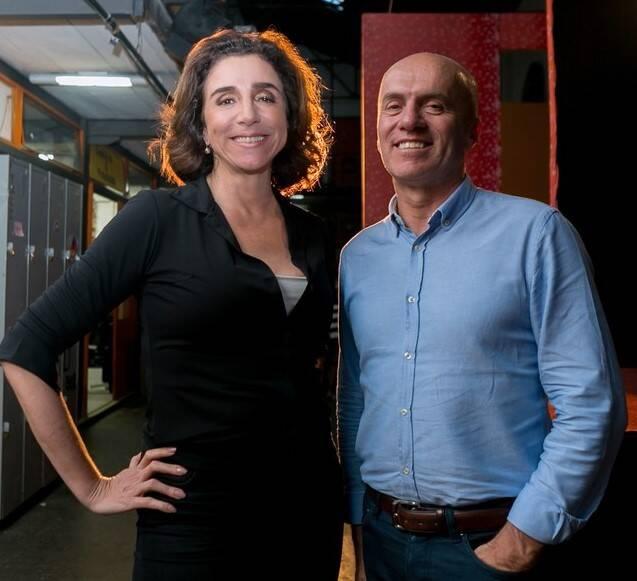 Marisa Orth e Gringo Cardia: fundadores da Spetaculu criam vaquinha para arrecadar verba para alimentação /Foto: Anderson Barros/G.Show