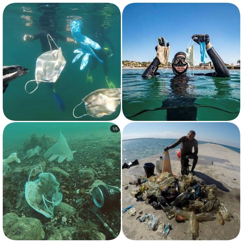 O lixo da pandemia no fundo do mar na França: ainda dá tempo de o ...